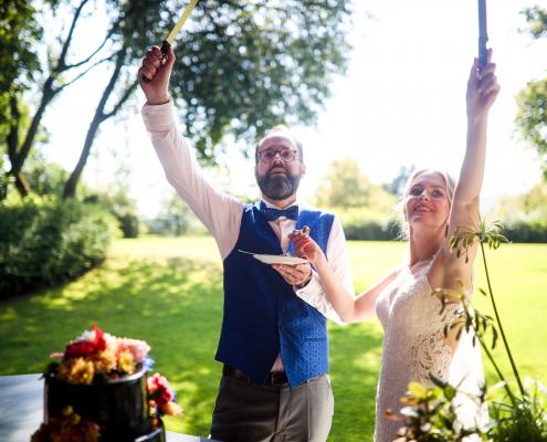 Hochzeitstorte Anschnitt Dagobertshausen Marburg