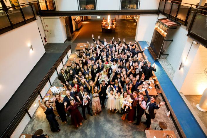 Gruppenfotos in Hamburg Hochzeiten