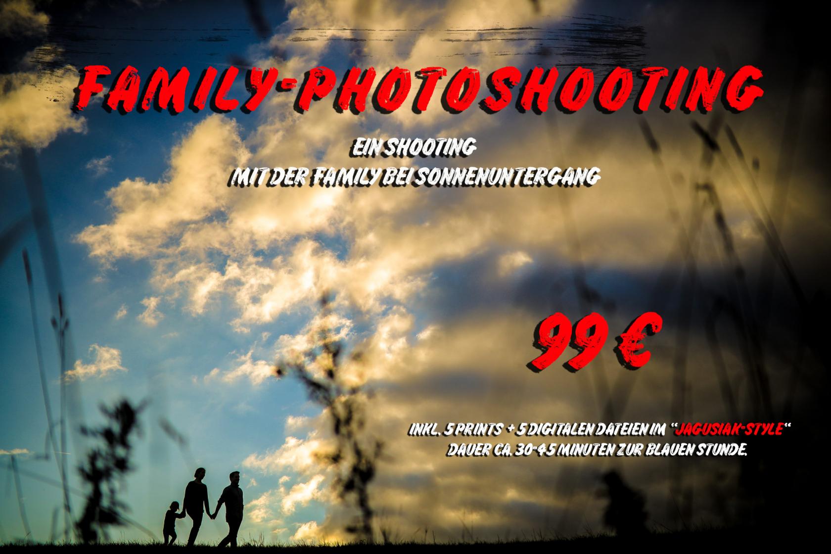 Gutschein Fotografie Family